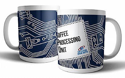 Acessórios - Caneca de porcelana - CPU