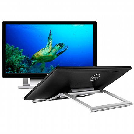 "Monitor - Monitor 21.5"" Dell S2240T Touch Screen - Full HD - 12ms - Inclinação até 60° - Seminovo"