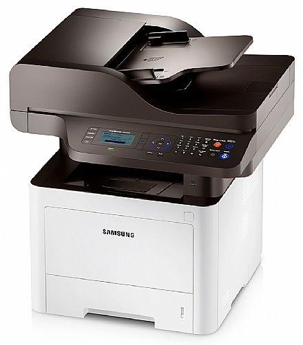 Multifuncional - Multifuncional Laser Samsung SL-M4075FR - USB, Rede - Impressora, Copiadora, Scanner, Fax - Duplex Frente e Verso