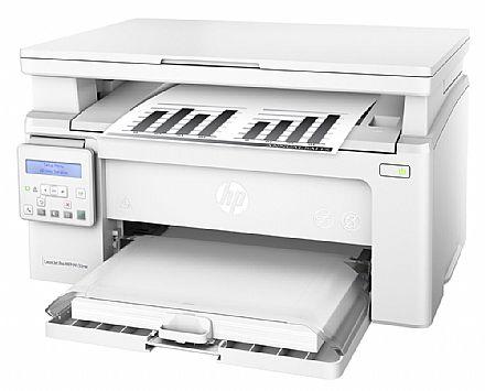 Multifuncional - Multifuncional Laser HP LaserJet Pro M130NW - 110V - USB, Rede, Wi-Fi - Impressora, Copiadora e Scanner - G3Q58A