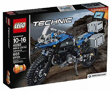 Brinquedo - LEGO Technic - BMW R 1200 GS Adventure - 42063