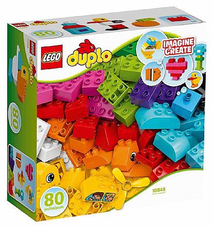 Brinquedo - LEGO Duplo - As Minhas Primeiras Peças - 10848