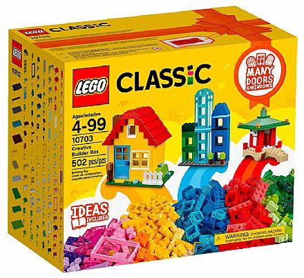 Brinquedo - LEGO Classic - Caixa Criativa de Construção - 10703