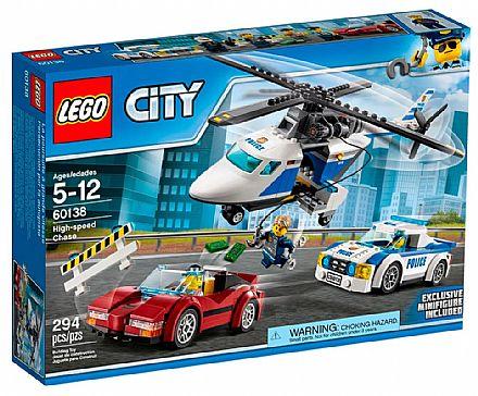Brinquedo - LEGO City - Perseguição em Alta Velocidade - 60138