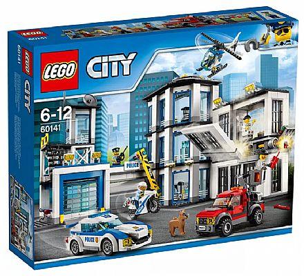 Brinquedo - LEGO City - Esquadra de Polícia - 60141