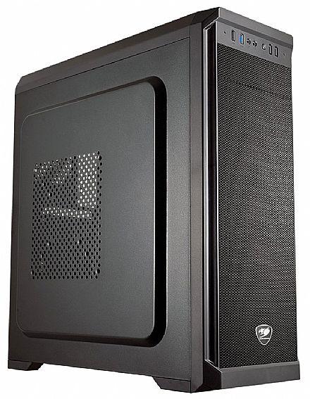 Gabinete - Gabinete Cougar MX330-X - USB 3.0 - Preto
