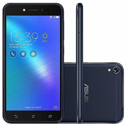 "Smartphone - Smartphone Asus Zenfone Live TV - Tela 5"" IPS HD, 16GB, Dual Chip, 4G, Câmera 13MP - Preto - ZB501KL"