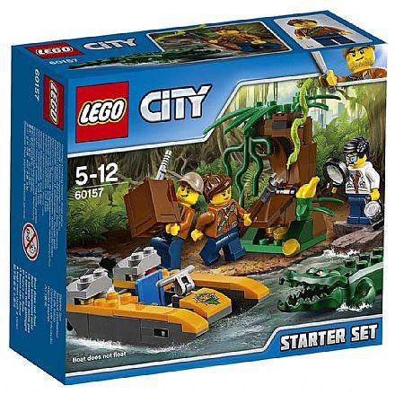 Brinquedo - LEGO City - Conjunto Básico da Selva - 60157
