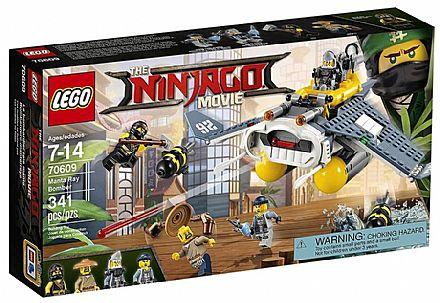 Brinquedo - LEGO Ninjago - Bomber Arraia - 70609