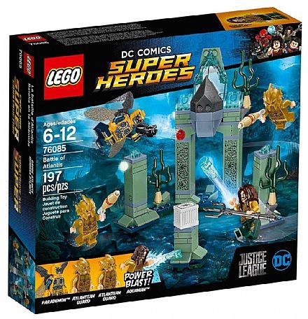 Brinquedo - LEGO Super Heroes - Combate de Atlantis - 76085