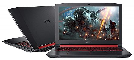 "Notebook - Notebook Acer Aspire Nitro 5 AN515-51-50U2 Gamer - Tela 15.6"" IPS Full HD, Intel i5 7300HQ, 8GB, HD 1TB, GeForce GTX 1050 4GB, Windows 10"