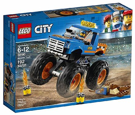 Brinquedo - LEGO City - Monster Truck - 60180