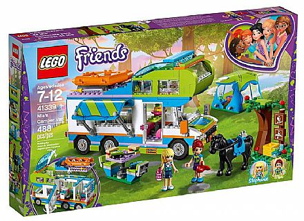 Brinquedo - LEGO Friends - O Trailer da Mia - 41339