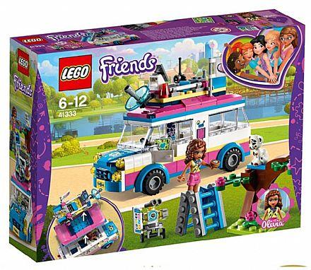 Brinquedo - LEGO Friends - O Veículo de Missões da Olivia - 41333