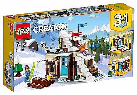 Brinquedo - LEGO Creator - Modular de Férias de Inverno - 31080