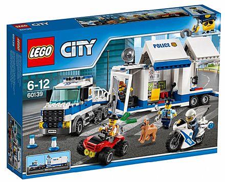 Brinquedo - LEGO City - Centro de Comando Móvel - 60139