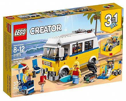 Brinquedo - LEGO Creator - Sunshine - Van de Surfista - 31079