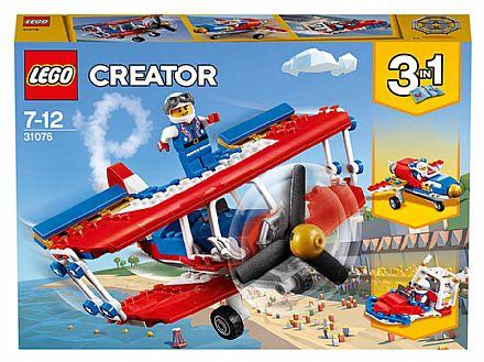 Brinquedo - LEGO Creator - Avião de Acrobacias Ousadas - 31076