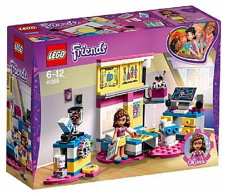 Brinquedo - LEGO Friends - O Quarto da Olivia - 41329