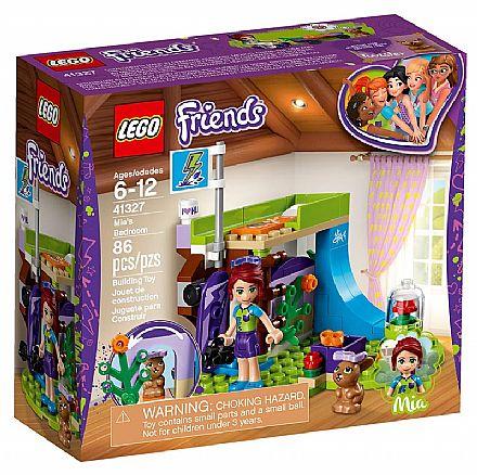 Brinquedo - LEGO Friends - O Quarto da Mia - 41327