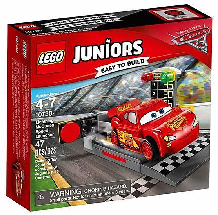 Brinquedo - LEGO Juniors - Pista de Lançamento de Relâmpago McQueen - 10730