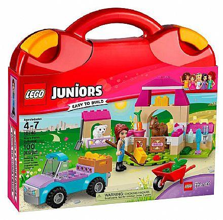 Brinquedo - LEGO Juniors - Malinha da Fazenda da Mia - 10746
