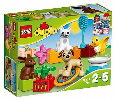 Brinquedo - LEGO Duplo - Bichinhos de Estimação - 10838