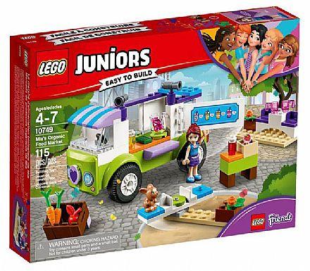 Brinquedo - LEGO Juniors - O Mercado de Alimentos Orgânicos da Mia - 10749