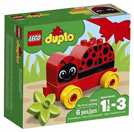 Brinquedo - LEGO Duplo - O minha Primeira Joaninha - 10859