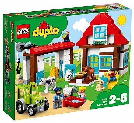 Brinquedo - LEGO Duplo - Aventuras na Fazenda - 10869