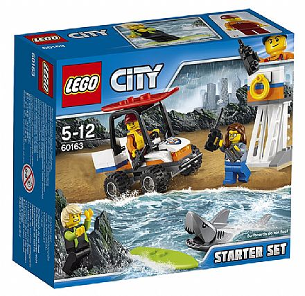 Brinquedo - LEGO City - Conjunto Básico da Guarda Costeira - 60163