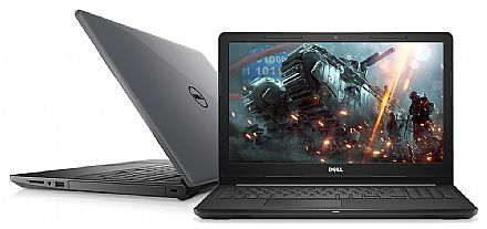 "Notebook - Dell Inspiron i15-3576-A70C - Tela 15.6"" HD, Intel i7 8550U, 32GB, SSD 480GB, Vídeo Radeon 520 2GB, Windows 10"
