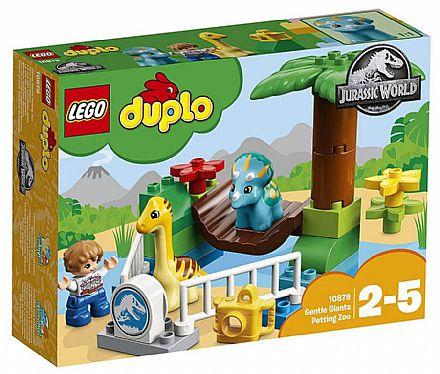 Brinquedo - LEGO Duplo Jurassic World - Zoológico de Gigantes Mansos - 10879
