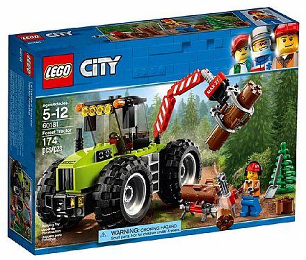 Brinquedo - LEGO City - Trator Florestal - 60181
