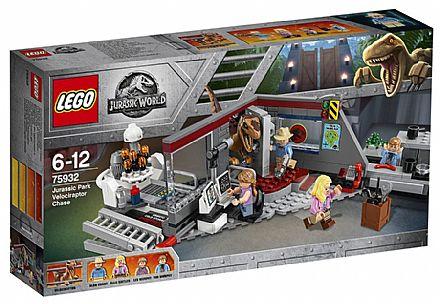 Brinquedo - LEGO Jurassic World - Perseguição de Raptor - 75932