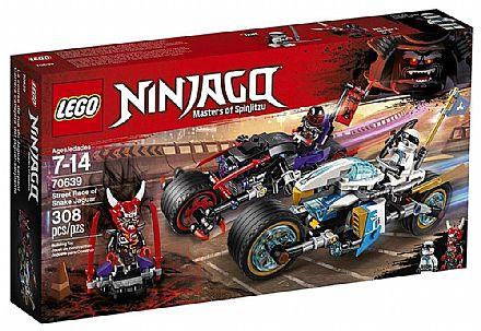 Brinquedo - LEGO Ninjago - A Corrida de Rua de Serpente Jaguar - 70639