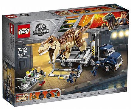 Brinquedo - LEGO Jurassic World - Transportando o T-Rex - 75933