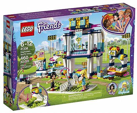 Brinquedo - LEGO Friends - A Arena de Esportes da Stephanie - 41338