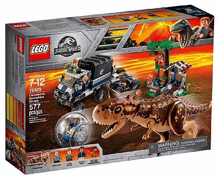 Brinquedo - LEGO Jurassic World - A Fuga da Girosfera - 75929