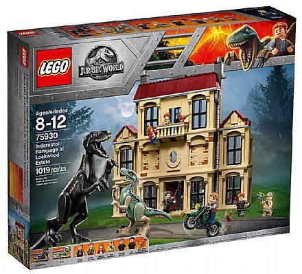 Brinquedo - LEGO Jurassic World - Indoraptor em Fúria - 75930