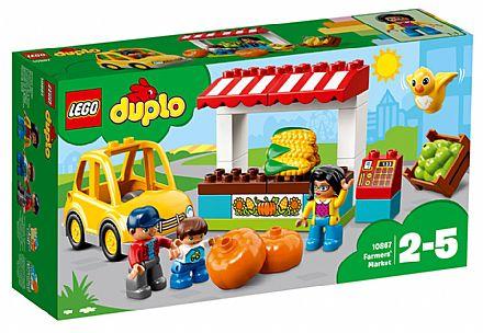 Brinquedo - LEGO Duplo - Mercado de Fazendeiros - 10867