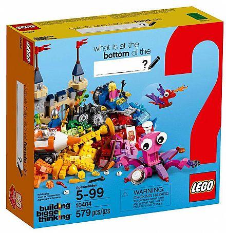 Brinquedo - LEGO Building Bigger Thinking - Fundo do Oceano - 10404