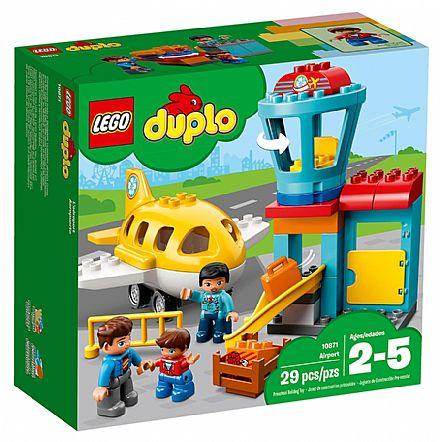 Brinquedo - LEGO Duplo - Aeroporto - 10871