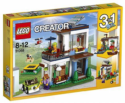 Brinquedo - LEGO Creator - Casa Moderna - 31068