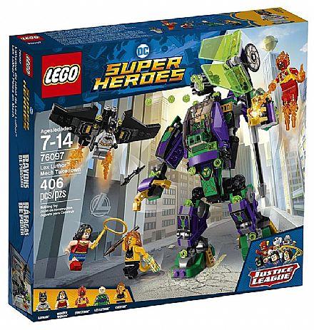 Brinquedo - LEGO DC Super Heroes - Robô do Lex Luthor - 76097