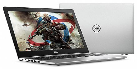 "Notebook - Notebook Dell Inspiron i15-5570-A20C - Tela 15.6"" HD, Intel i5 8250U, 8GB, SSD 480GB, Radeon 530 2GB, Windows 10"