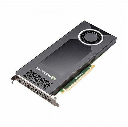 Placa de Vídeo - Placa Gráfica Nvidia Quadro NVS 810 4GB GDDR3 128bits - PNY XVCNVS810DVI-PB