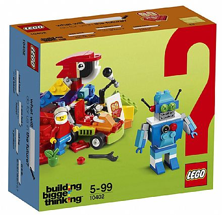 Brinquedo - LEGO Building Bigger Thinking - Diversão do Futuro - 10402