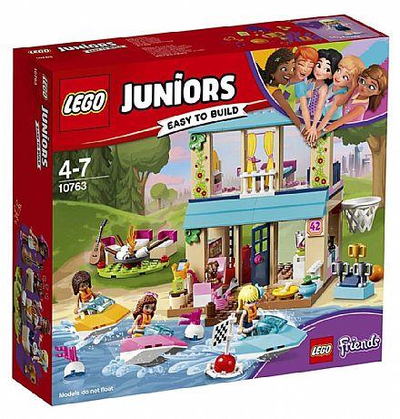 Brinquedo - LEGO Friends - A Casa do Lago da Stephanie - 10763