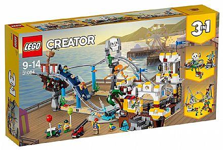 Brinquedo - LEGO Creator - Montanha-Russa de Piratas - 31084